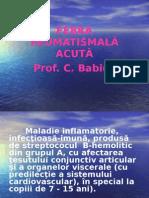B.Febra Reumatismala