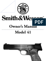 Smith & Wesson Manual - Model 41