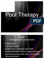 Pool Therapy / Hydro Therapy / Terapi Air