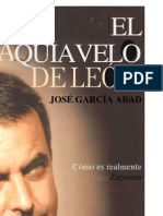 Abad, Pepe - El Maquiavelo de Leon (Biografia de Rodriguez Zapatero)
