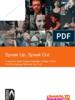 Speak Up Speak Out Report