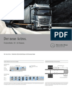 New Actros Technical Data Frame 04 2011