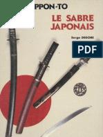 S. Degore - Nippon-To - Le Sabre Japonais -RARE-Shapy{-_-}