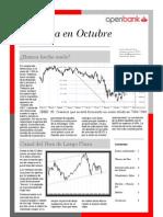 La Bolsa en Octubre