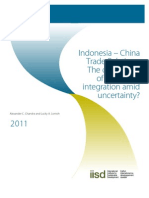 Indonesia China Relations