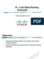 CCNA Exp2 - Chapter10 - Link-State Routing Protocol