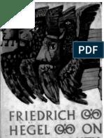 On Christianity - Georg Wilhelm Friedrich Hegel