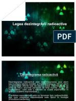 Dezintegrarea radioactiva