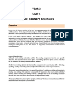 Year 3 (2012) - Unit 1 Programme THEME- BRUNEI'S FOLKTALES