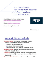 Intro to Net Security