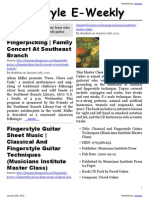 Fingerstyle E-Weekly
