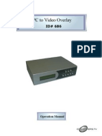 Pc to Video Overlay Cpt-1370 686 357