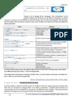 HTML Pour Lettres de Rappel
