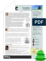 Newsletter 2008 11 November