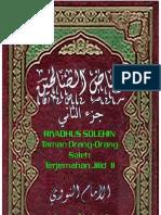 Imam Nawawi - Riyadush Shalihin [Jilid 2] + Matan