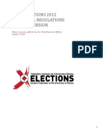 2012 SFUO Election Rules