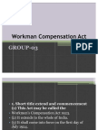 Workman Compensation Act