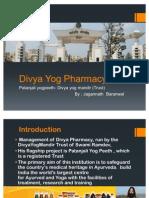 Divya Yog Pharmacy