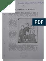Eroina Aromana Evantia Margarit (Almanah Macedo-Roman 1902), Bucuresti 1902
