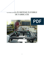 Comanda in Sisteme Flexibile de Fabricatie