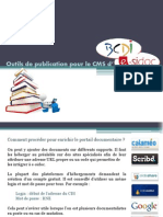 Outils de Publication Pour Le CMS d'E-sidoc