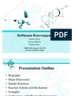Hoffmann Rearrangement