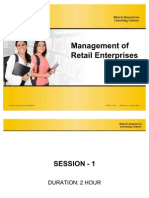 Management of Retail Enterprises