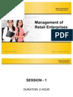 Management of Retail Enterprises