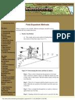 Orienteering Field Expedient Methods 2004