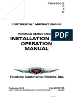 TSIO-550 Operation Manual