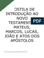 Apostila de Introdução ao Novo Testamento