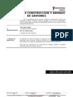 EC.01.PE.024 Construcción de Gaviones