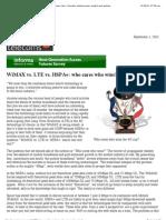 WiMAX vs. LTE vs. HSPA+_ Who Cares Who Wins