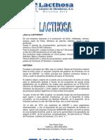Qué es LACTHOSA