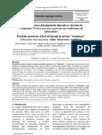 Efecto genotóxico del plaguicida Fipronil
