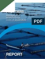 Blue frontier, Aquaculture Report 2011
