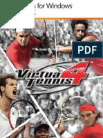 Manual Virtua Tennis 4