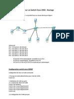VLAN Routage Switch Cisco 2950 Routeur2811