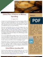 GDAMS Newsletter Jan 2012