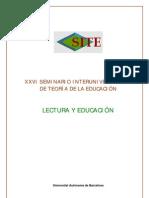 LECTURA Y EDUCACION