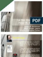 La Quinta Disciplina Peter M. Senge-Virginia Rodriguez C.
