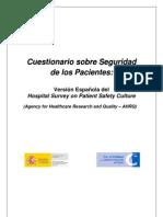 rio Encuesta Seguridad de Los Pacientes en PDF