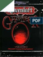 Ravenloft Gazetteer Vol. 1