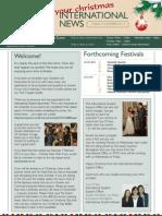 International News DECEMBER 2011