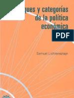 Enfoques y categorías de la política económica - Samuel Lichtensztejn