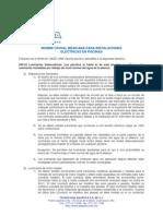 Extractos de la NOM-001-SEDE-1999 (Quinta sección) aplicables a la seguridad eléctrica
