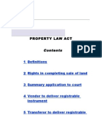 Property Law Act