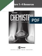Chemistry Matter of Change