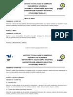 PRÁCTICAS DE LABORATORIO-ESTUDIO DEL TRABAJO II