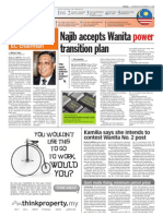 TheSun 2008-11-12 Page02 Najib Accepts Wanita Power Transition Plan